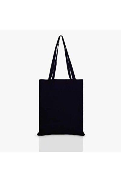Siyah Bez Çanta Baskısız