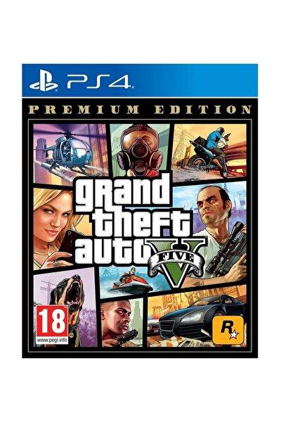 Grand Theft Auto 5 Premium Edition Ps4 Oyun