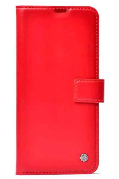 Gm 21 Kılıf Kartlı Standlı Kapaklı Kırmızı