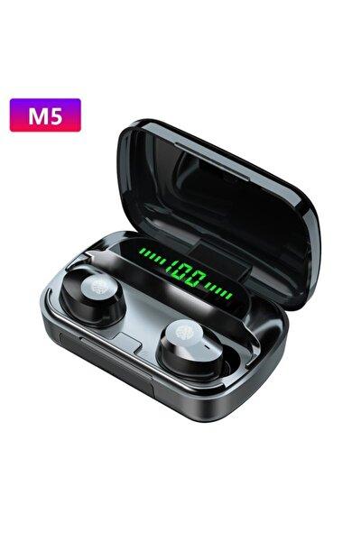 M5 Tws Bluetooth Kulaklık V5.1 Bt Wireless Led Göstergeli