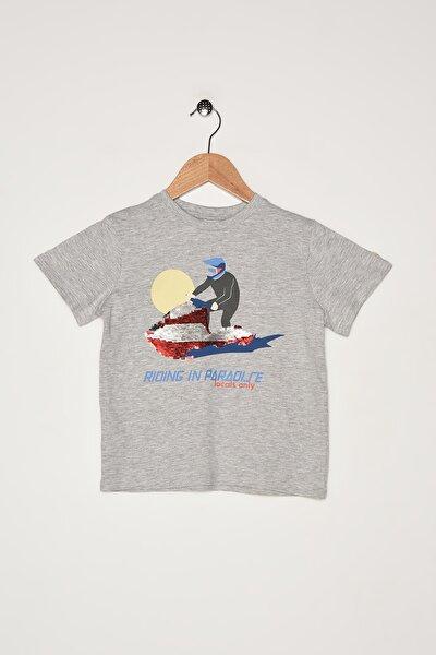 Erkek Çocuk Orta Kırçıllı Gri T-Shirt 67927675