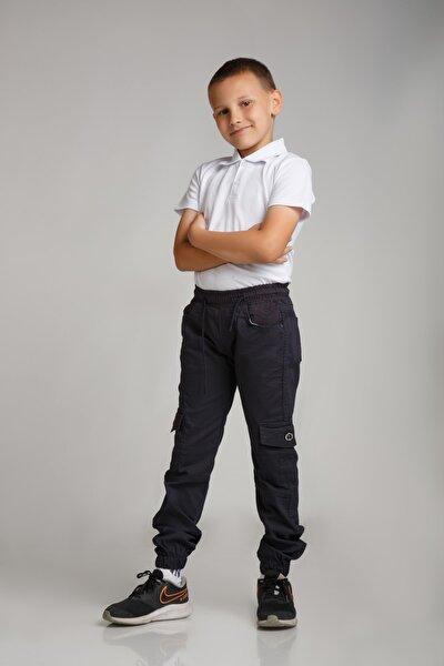Erkek Çocuk Lacivert Kargo Pantolon
