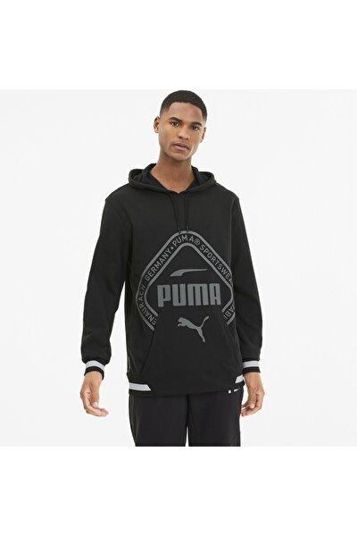 Collectıve Knıtted Erkek Antrenman Kapüşonlu Sweatshirt