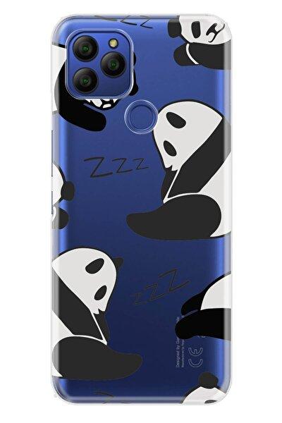Gm 21 Kılıf Desenli Trend Silikon Kapak - Pandalar Uyumlu