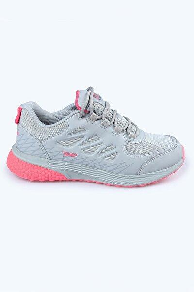 25740 Bayan Outdoor Su Geçirmez Spor Ayakkabı Gri