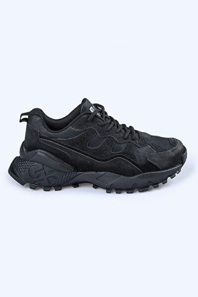 Unısex Siyah Outdoor Spor Ayakkabı