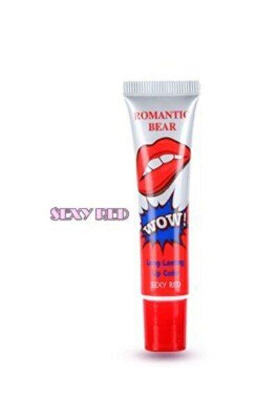 Romantic Bear Soyulan Ruj Sexy Red 15g 6970734250115-r
