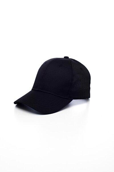 Unisex Siyah Basic Kep