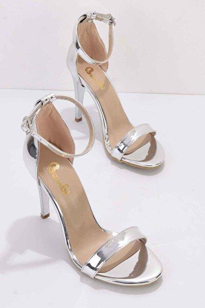 Lame Kadın Klasik Topuklu Ayakkabı K01894091139