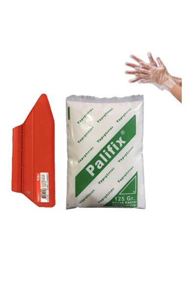 3'lü Set 125 gram Duvar Kağıdı Uygulama Seti Yapıştırıcısı Tutkalı Glitolin