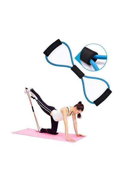 Plates Egzersiz Direnç Lastiği Vücut Şekillendirici Sıkılaştırıcı Direnç Güç Lastiği