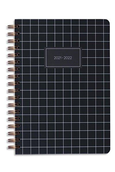 2021-2022 Yılı Akademik Ajanda 16 Aylık Siyah
