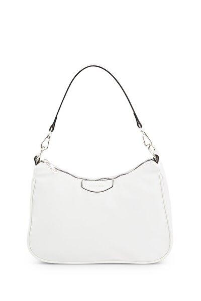 Kadın Beyaz Baguette Çanta 206