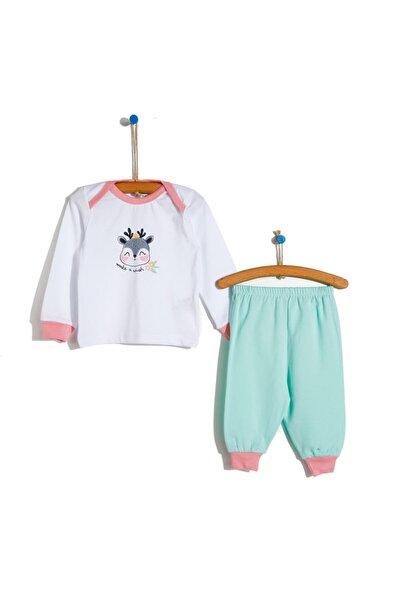 Basic Kız Bebek Baharlık Pijama Takımı