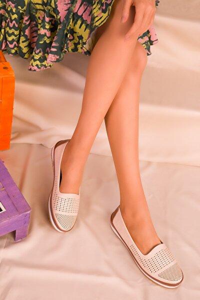 Bej Kadın Ayakkabı 16371