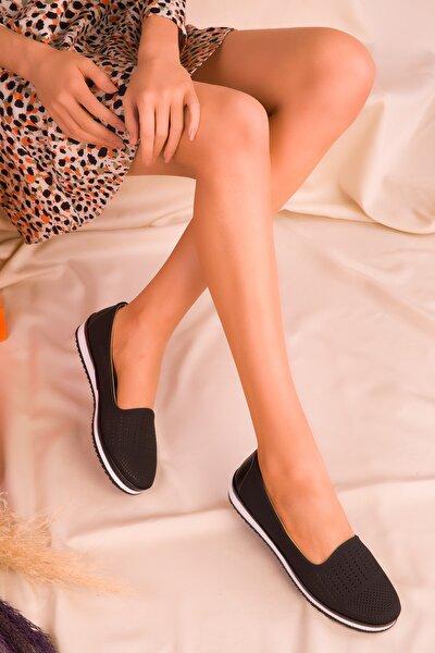 Siyah Kadın Ayakkabı 16371