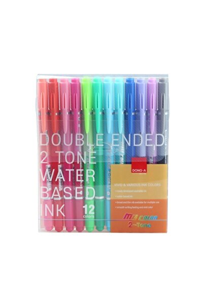 My Color 2 Duo Çift Renk 12li Set
