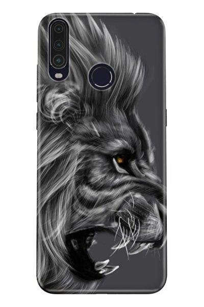 Gm 20 Pro Pure Modern Desenli Silikon Kılıf Kara Aslan