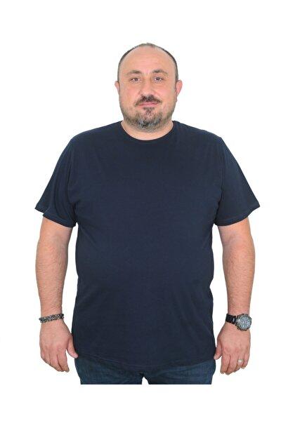 Erkek Büyük Beden  Classic Basic %100 Pamuklu T-shirt