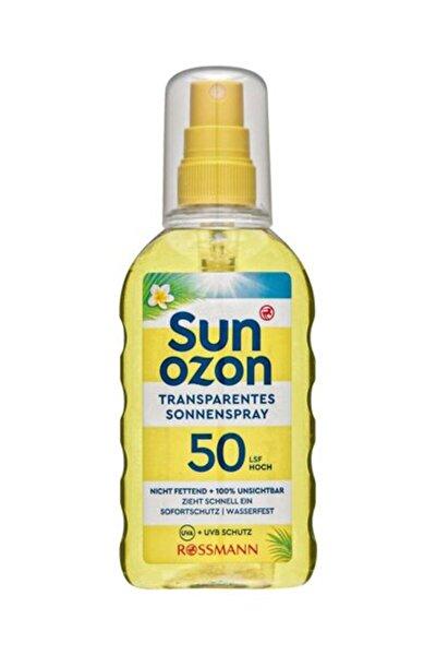 Güneş Spreyi SPF 50 Transparan 200 ml4305615572475