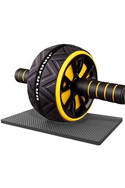 Ab Roller Egzersiz Fitness Tekerleği Ab Wheel Karın Kası Kondisyon Spor Aleti