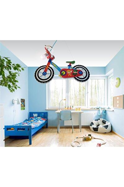 Ahşap Bisiklet Çocuk Odası Aydınlatma
