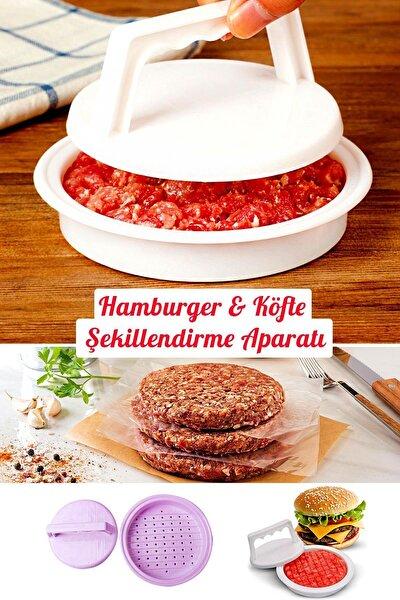 Hamburger Ve Köfte Şekillendirici Köfte Kalıbı Hamburger Pres Aparatı