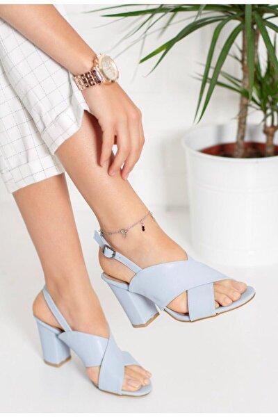 Stay Kadın Topuklu Çapraz Sandalet