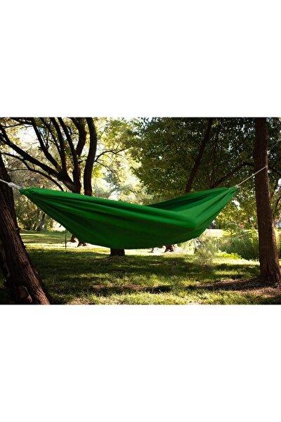 Kamp Hamağı - File Çantalı Kamp Hamağı - Outdoor Hamak Yeşil