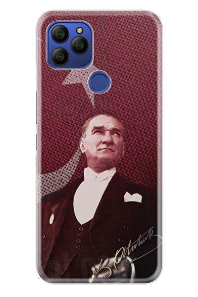 Gm 21 Kılıf Desenli Trend Silikon Kapak - M.k Atatürk