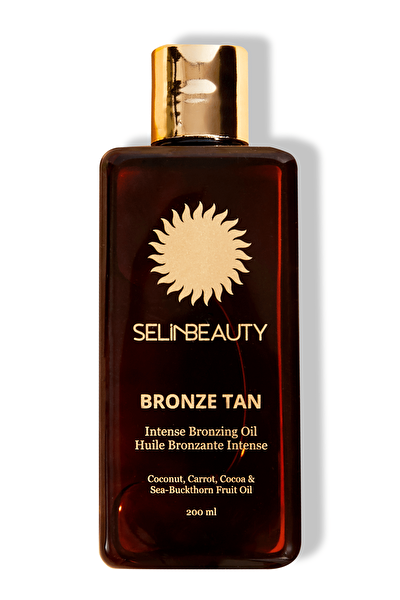Bronzlaştırıcı Yağ - Bronze Tan Intense Bronzing Oil 200 ml