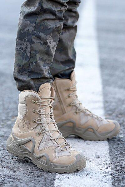 P1491 Meridyen Deri Erkek Askeri Bot Ayakkabı