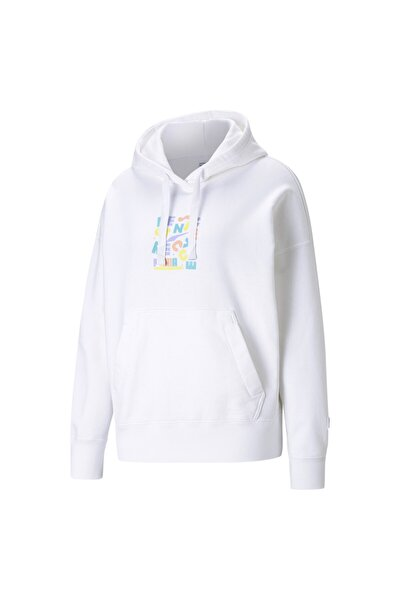 DOWNTOWN GRAPHIC Kadın Kapüşonlu Sweatshirt