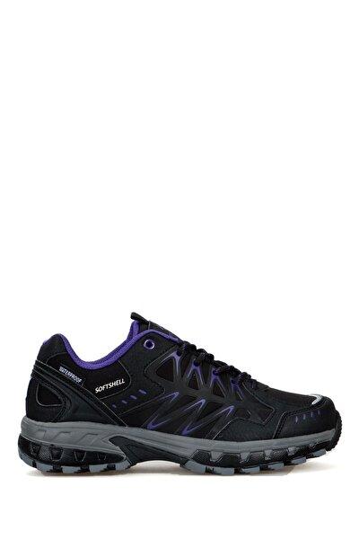 Kadın Siyah Su Geçirmez Outdoor Ayakkabı Poblo 101 20108-g