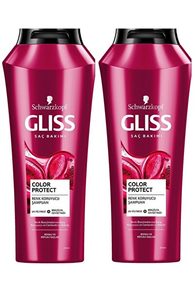 Color Protect Renk Koruyucu ve Canlandırıcı Şampuan 500 ML 2'li