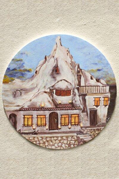Orjinal Yağlı Boya Tablo Dağın Içinde Hayat