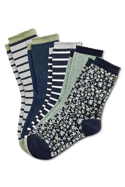 5 Çift Organik Pamuklu Çorap