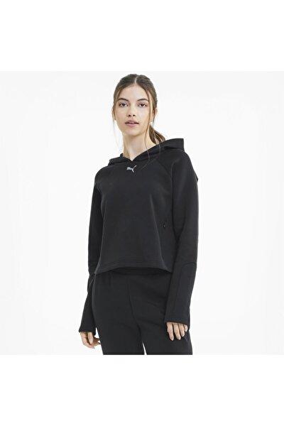 EVOSTRIPE HOODIE Siyah Kadın Sweatshirt 100583656