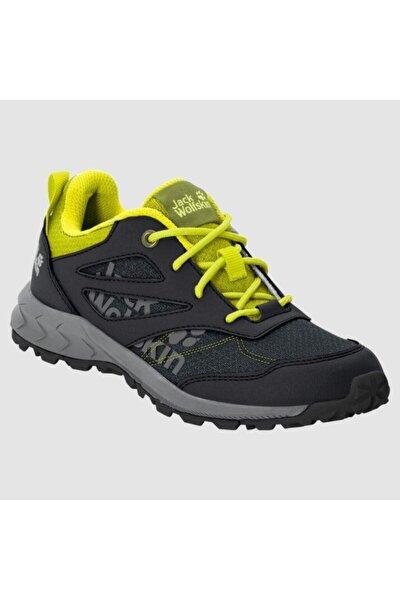4042171 Woodland Low Black/lime Kadın Outdoor Ayakkabı
