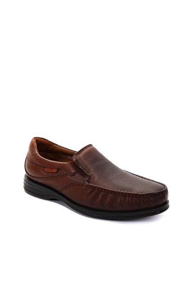 Erkek Taba Günlük Hakiki Deri Ayakkabı 35301