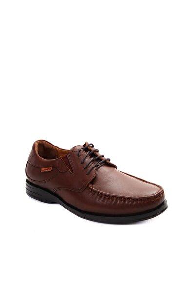 Erkek Kahverengi Hakiki Deri Taba Comfort Ayakkabı 35302
