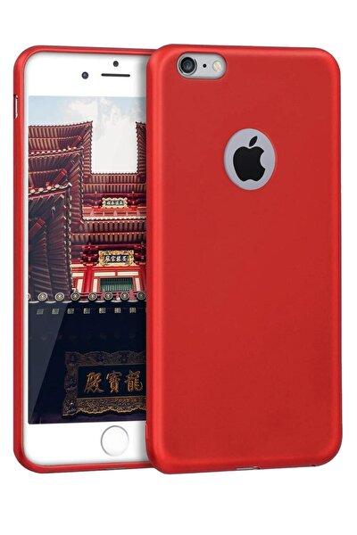 Iphone 6s Uyumlu Kılıf Yumuşak Soft Dokulu Mat Renkli Ince Klasik Silikon