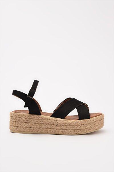 Siyah Kadın Sandalet 01SAY212740A100