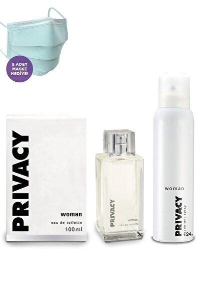 Kadın Edt Parfüm 100ml Ve Deodorant 150ml