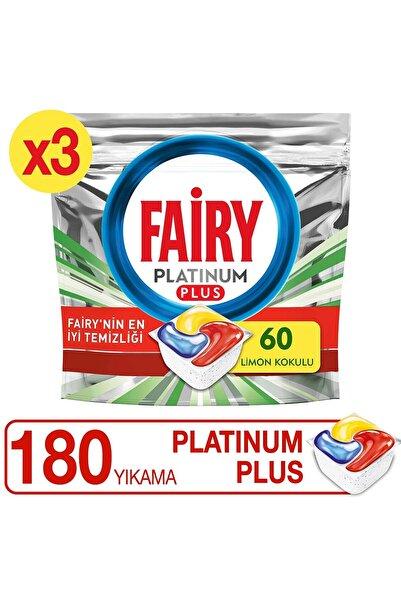Platinum Plus Bulaşık Makinesi Deterjanı Kapsülü 180 Yıkama