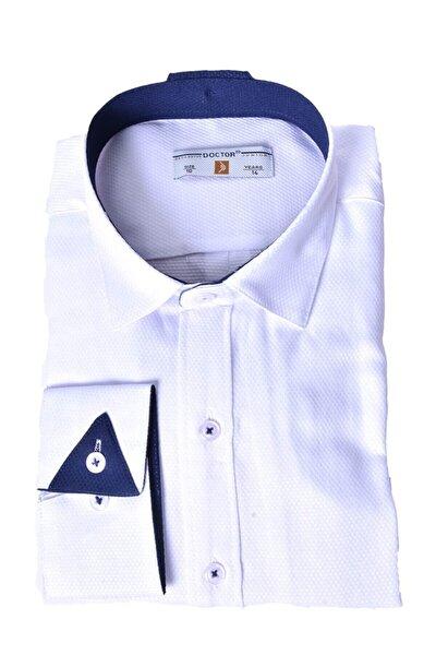 Erkek Çocuk Beyaz Gömlek