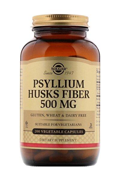 Psyllium Husks Fibre 500 Mg (200 Kapsül)