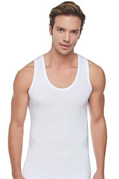 Erkek Beyaz %100pamuk Atlet