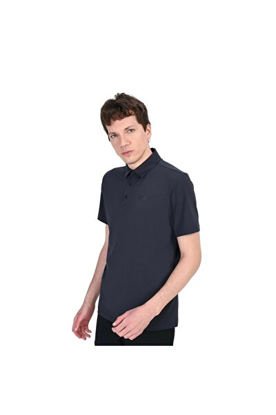 Erkek Mavi Polo Yaka Tshirt