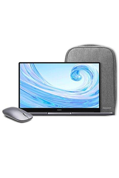 "Matebook D15 I3 10110u 8gb 256gb Ssd W10 Home 15.6"" Fhd + Notebook Çantası Ve Mouse"